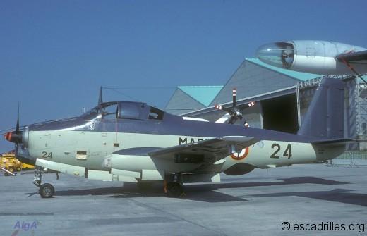 Alizé de la 4F en 1979