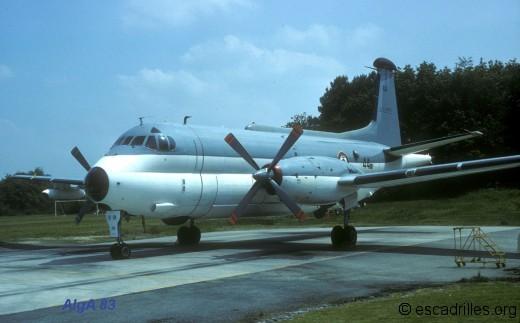 Breguet 1150 de la 23F en 1983