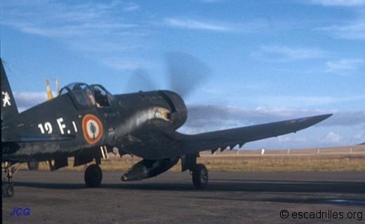 Corsair 12F-1 en Algérie
