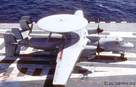 E-2C de la 4F sur le CdG