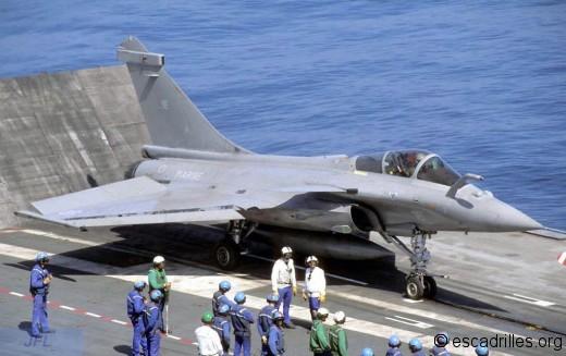 Rafale F3 vu en 2010 sur le CdG