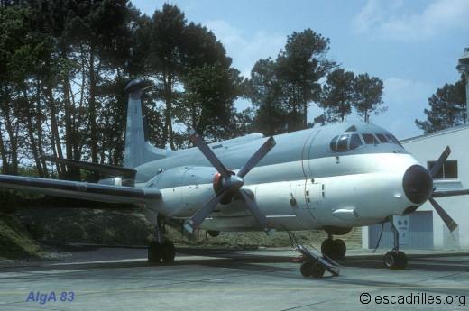 Breguet 1150 de la 24F en 1983