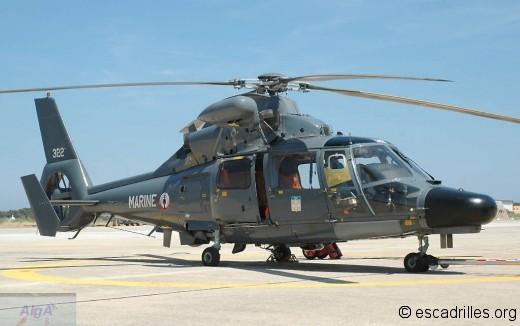 Dauphin SA-365F Pedro de la 35F