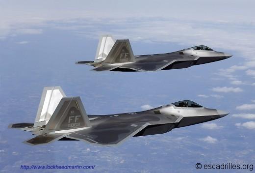 Le F-22 de chez Lockheed