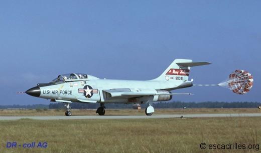 F-101B du Dakota du Nord en 1972