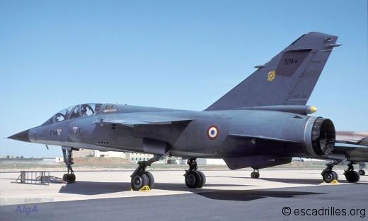 F-1B du 3/33 à Istres en 2001