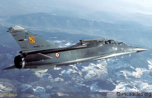 F-1B du 1/30 Alsace en vol