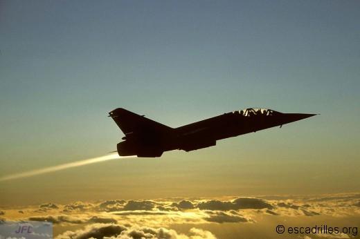 F-1B vu en vol