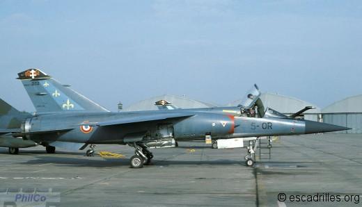 Mirage F-1C 200 du 2/5 vu en 1978