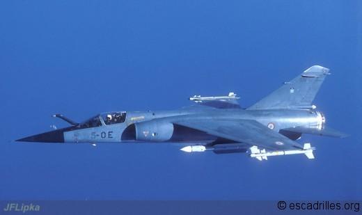 Mirage F-1C 200 du 2/5 en 1987