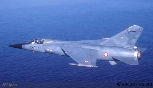 Mirage F-1C du 2/5 en 1989