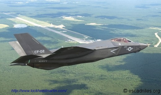 le F-35C, version US Navy