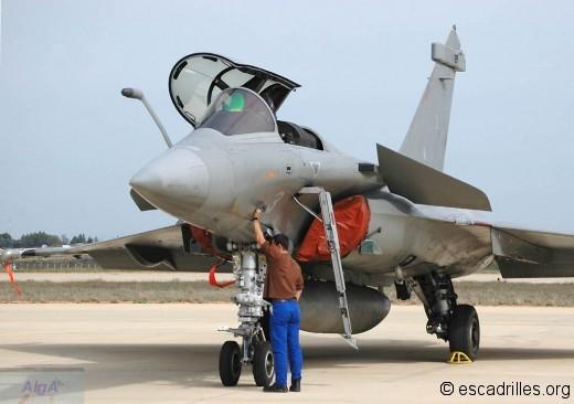 Rafale 12F-3 à Garons en 2006