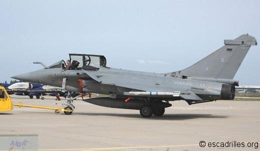 Rafale 12F-5 à Garons en 2006