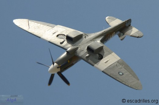 Spitfire vu à Orange le 13 octobre