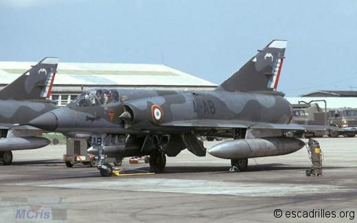 Mirage IIIE du 1/4 en 1971