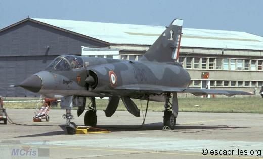 Mirage IIIE du 2/4 en 1971
