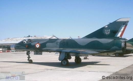 Mirage IIIE du 1/13 en 1972