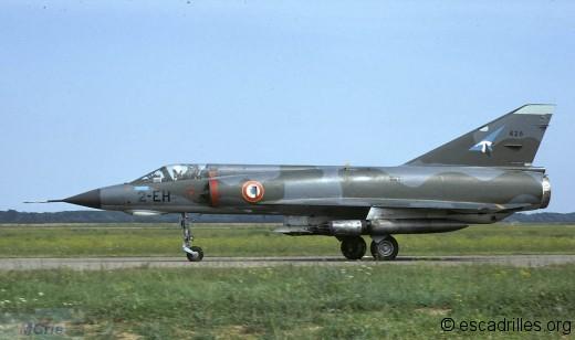 Mirage IIIE du 1/2 en 1972