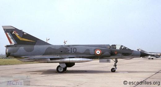 Mirage IIIE 1972 3-IO