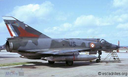 Mirage IIIE du 2/3 en 1973