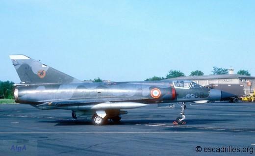 Mirage IIIE du 1/13 en 1978