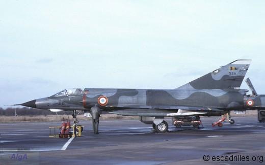 Mirage IIIE 1978 3-IB