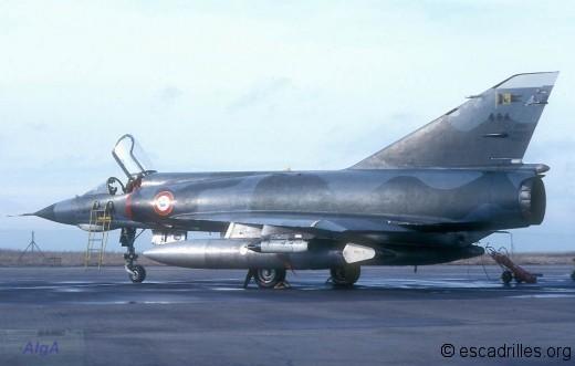 Mirage IIIE du 1/3 en 1978