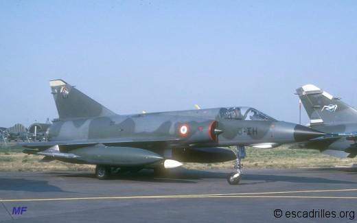 Mirage IIIE du 1/3 en 1983 avec Phimat