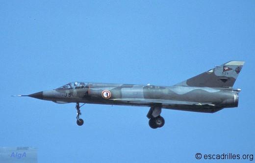 Mirage IIIE en lisse en 1984