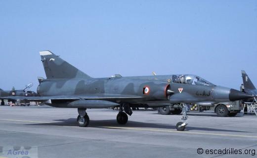 Mirage IIIE du 1/4 en 1986