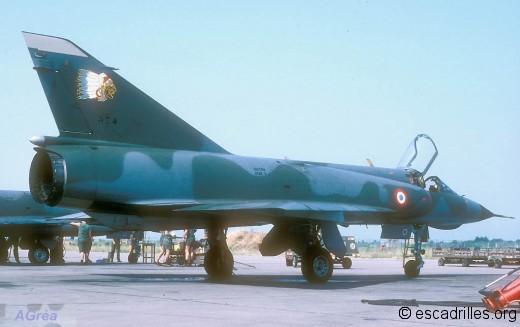 Mirage IIIE du 2/4 en 1986