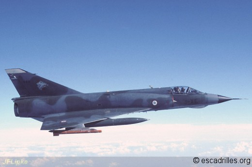 Mirage IIIE 1991 3XE air-air