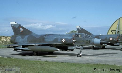 Mirage IIIE du 3/3 en 1993