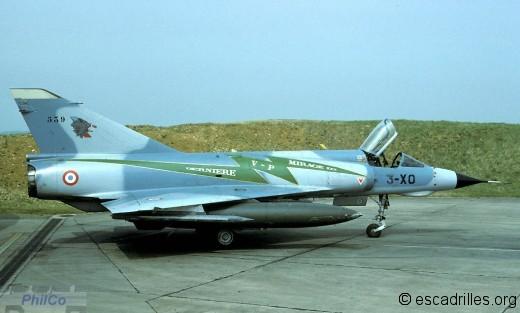 """Mirage IIIE 3-XO spécial """"dernière VP"""" en 1993"""
