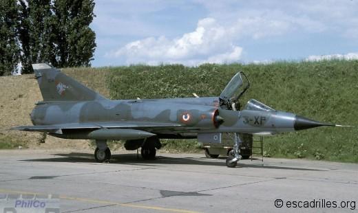 """Mirage IIIE 3-XP spécial """"50è de l'Ardennes"""" en 1993"""