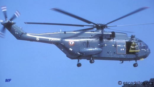 Super Frelon 33F-6 en 1983