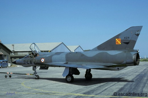 Mirage IIIE 3/2 Alsace 1984