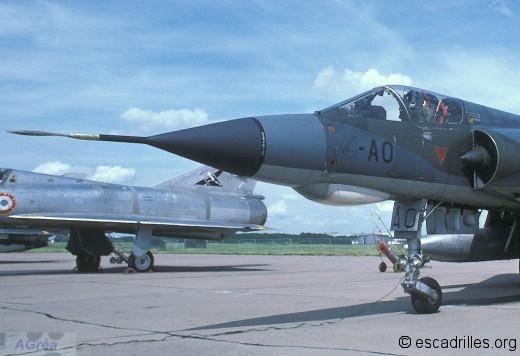 Mirage IIIE du 1/4