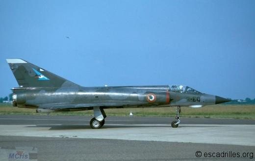 Mirage IIIE du 1/2 vu en 1974