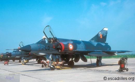 Mirage IIIE du 3/2 vu en 1979 au Tiger Meet de Cambrai