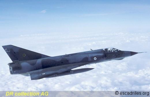 Mirage IIIE 1989 13-QG air/air