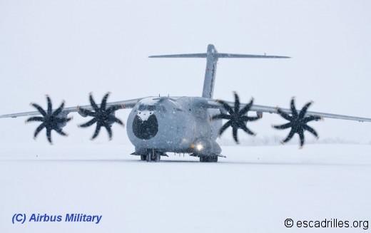 A400M Grizzly à Kiruna