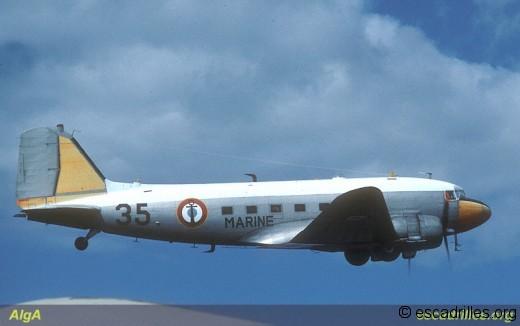 C-47D Dakota de la 56S en 1984