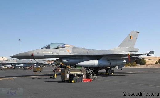 Un des cinq F16AM 10ème Wing