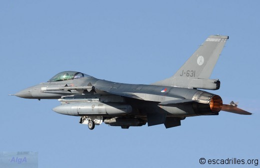 F-16AM de la KLu