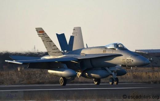 F-18A (M) de l'Ala 15 espagnole