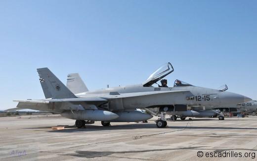 EF-18 de l'Ala de Caza 12