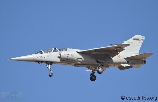 Un des deux F-1BE encore en service