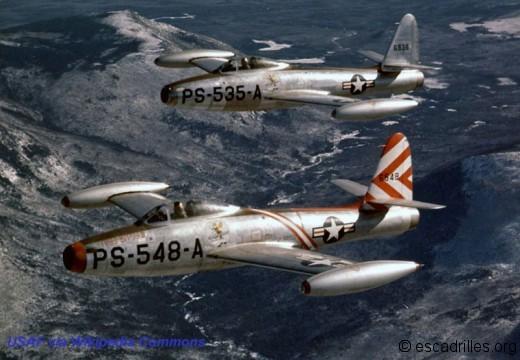 F-84B Thunderjet USAF 1948